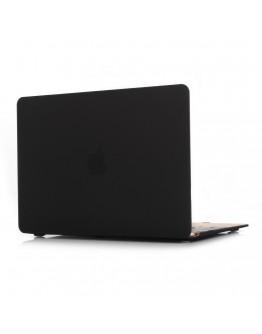 "Carcasa protectie slim din plastic pentru MacBook Retina 12"", neagra"