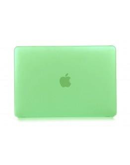 "Carcasa protectie slim din plastic pentru MacBook Retina 12"", verde"