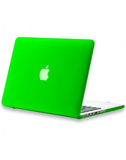 Carcasa protectie din plastic pentru MacBook Pro Retina 13, verde