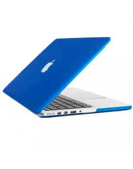 "Carcasa protectie slim din plastic pentru MacBook Pro Retina 13.3"", albastru inchis"