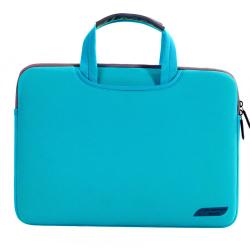 Husa protectie pentru MacBook 15.4 inch, albastra