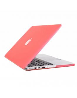 "Carcasa protectie slim din plastic pentru MacBook Pro Retina 15.4"", roz"