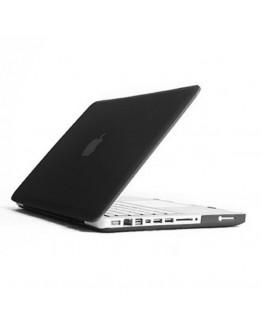 "Carcasa protectie slim din plastic pentru MacBook White Unibody 13.3"", neagra"