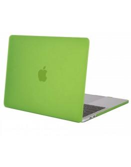 """Carcasa protectie slim din plastic pentru MacBook Pro  13.3"""" 2016 / Touch Bar, verde"""