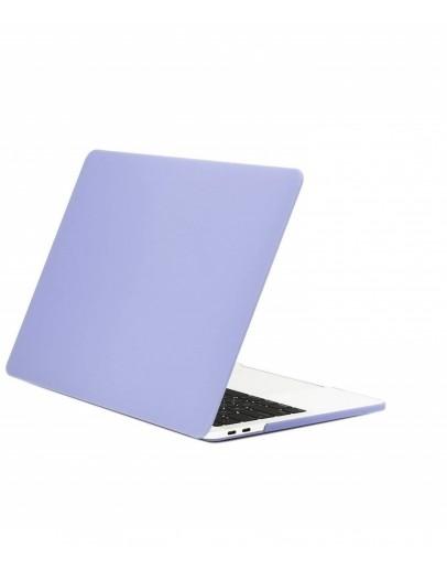 """Carcasa protectie slim din plastic pentru MacBook Pro  13.3"""" 2016 / Touch Bar, albastru mat"""