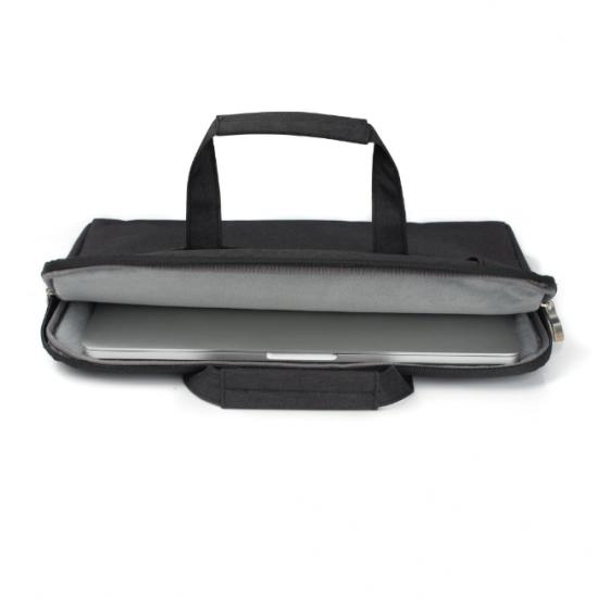 """Geanta protectie pentru MacBook 15.4"""", neagra"""
