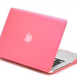 "Carcasa protectie slim din plastic pentru MacBook Pro 13.3"" (Non-Retina), roz"