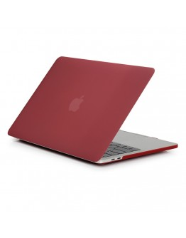 "Carcasa protectie slim din plastic pentru MacBook Pro  15.4"" 2016 / Touch Bar, visinie"
