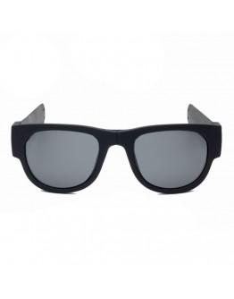 Ochelari de soare unisex, pliabili, negri