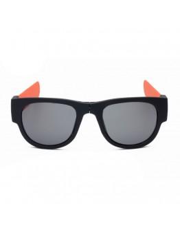 Ochelari de soare unisex, pliabili, orange