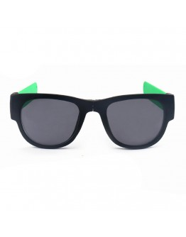 Ochelari de soare unisex, pliabili, verzi