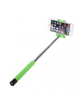 Selfie Stick extensibil cu bluetooth - verde