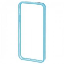 Bumper protectie din plastic pentru iPhone 5C - albastru