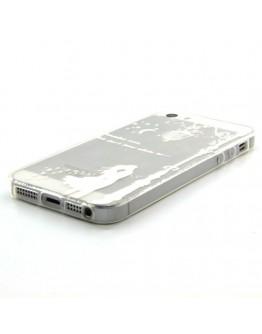 Carcasa protectie spate imprimata pentru iPhone 5 / 5S / SE