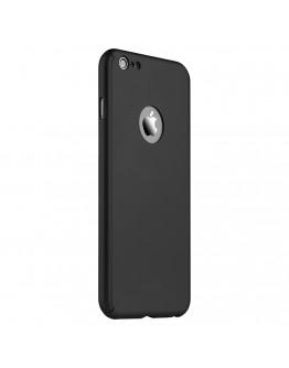 Husa protectie completa IPAKY pentru iPhone 6 Plus / 6S Plus 5.5 inch, neagra