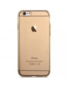 Carcasa protectie spate subtire DEVIA din gel TPU pentru iPhone 6 Plus / 6S Plus 5.5 inch, gold