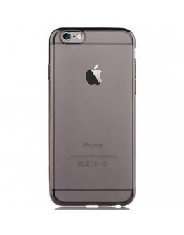 Carcasa protectie spate subtire DEVIA din gel TPU pentru iPhone 6 Plus / 6S Plus 5.5 inch, gri