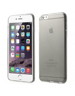 """Carcasa protectie spate din gel TPU 0.6 mm pentru iPhone 6 Plus / 6S Plus 5.5"""", gri"""
