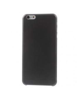 "Carcasa protectie spate slim din plastic pentru iPhone 6 Plus / 6S Plus 5.5"", neagra"