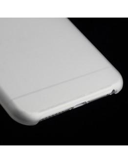 "Carcasa protectie spate slim din plastic pentru iPhone 6 Plus / 6S Plus 5.5"", alba"