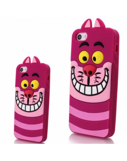 """Carcasa protectie spate 3D """"pisoi"""" din silicon pentru iPhone 6 Plus / 6S Plus"""