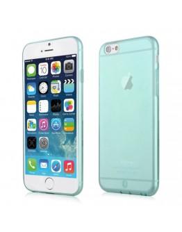 Carcasa protectie spate 0.7 mm pentru Iphone 6 / 6S, albastra