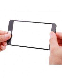 Sticla securizata protectie ecran completa pentru iPhone 7 / 8 Plus, neagra
