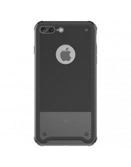 Carcasa protectie spate rezistenta la socuri BASEUS pentru iPhone 7 Plus 5.5 inch, neagra