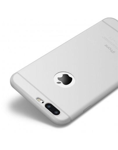 Carcasa protectie spate CAFELE din silicon pentru iPhone 7 Plus / iPhone 8 Plus, transparenta