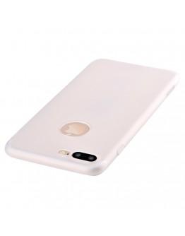 Carcasa protectie spate din gel TPU pentru iPhone 8 Plus / iPhone 7 Plus, transparenta