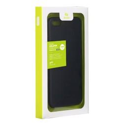 Carcasa protectie spate din plastic 0.4 mm pentru iPhone 8 Plus / 7 Plus, neagra