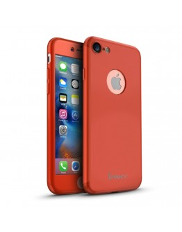 Husa protectie completa IPAKY pentru iPhone 7 4.7 inch, rosie
