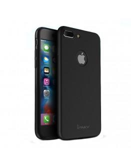 Husa protectie completa IPAKY pentru iPhone 7 Plus 5.5 inch, neagra