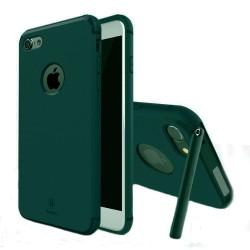 Carcasa protectie spate BASEUS cu suport pentru iPhone 7 Plus 5.5 inch, verde