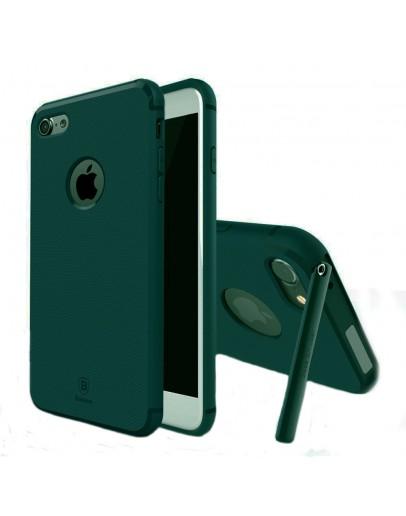 Carcasa protectie spate BASEUS cu suport pentru iPhone 7 4.7 inch, verde