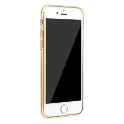 Carcasa protectie BASEUS din gel TPU pentru iPhone 7 4.7 inch, gold