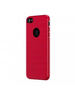 Carcasa protectie spate BASEUS din gel TPU pentru suport magnetic pentru iPhone 7 Plus / iPhone 8 Plus, rosie