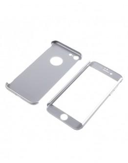 Husa protectie completa IPAKY pentru iPhone 8, silver