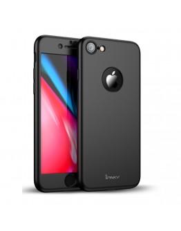 Husa protectie completa IPAKY pentru iPhone 8, neagra