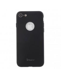 Husa protectie completa IPAKY pentru iPhone 6 / 6s, neagra