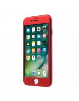 Husa protectie completa IPAKY pentru iPhone 6 / 6s, rosie