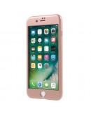 Husa protectie completa IPAKY pentru iPhone 7 Plus 5.5 inch, rose gold