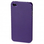 Carcasa protectie spate din plastic pentru iPhone 4 / 4S - mov