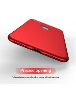 Husa protectie completa IPAKY pentru iPhone 8 Plus, rosie