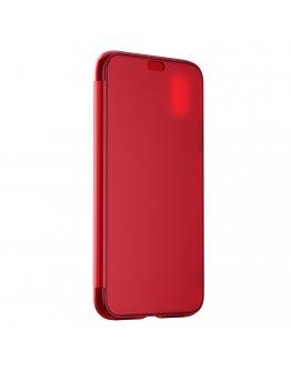 Husa de protectie pentru iPhone X 5.8 inch, rosie