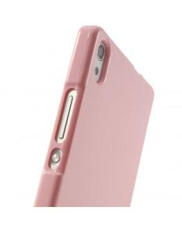 Carcasa protectie spate pentru Huawei Ascend P7, roz