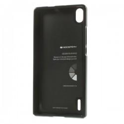 Carcasa protectie spate pentru Huawei Ascend P7, neagra