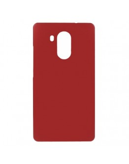 Carcasa protectie spate din plastic cauciucat pentru Huawei Mate 8 - rosie