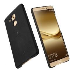 Carcasa protectie spate LENUO din plastic si piele ecologica pentru Huawei Mate 8