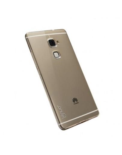 Carcasa protectie spate din gel TPU pentru Huawei Mate S - gri